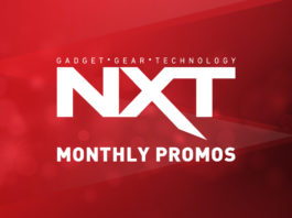 NXT Montly Promos ad