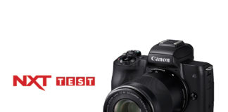 NXT review of Canon EOS M50
