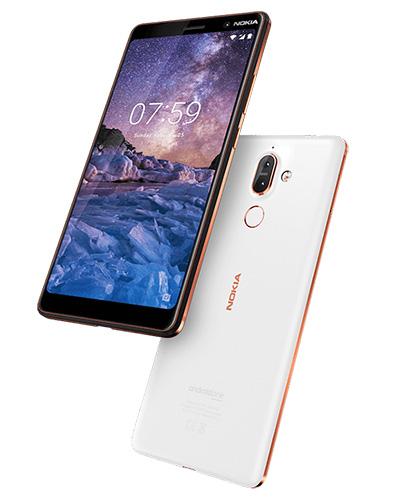 Nokia 7 Plus in white