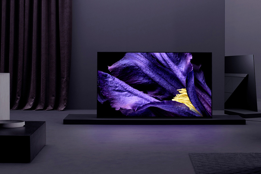"""MASTER Series A9F (65"""" and 55"""" Models) 4K HDR OLED TV"""