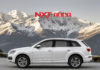 Audi Q7 in Tofana White