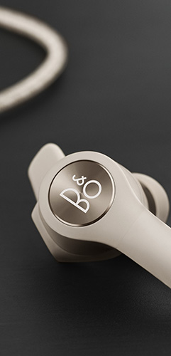 Close up of Beoplay E6 Earphones
