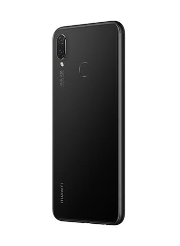 Back view of Huawei Nova 3i in Black