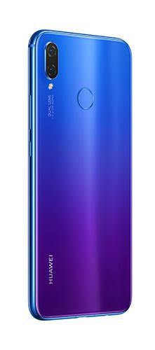 Back view of Huawei Nova 3i in Purple