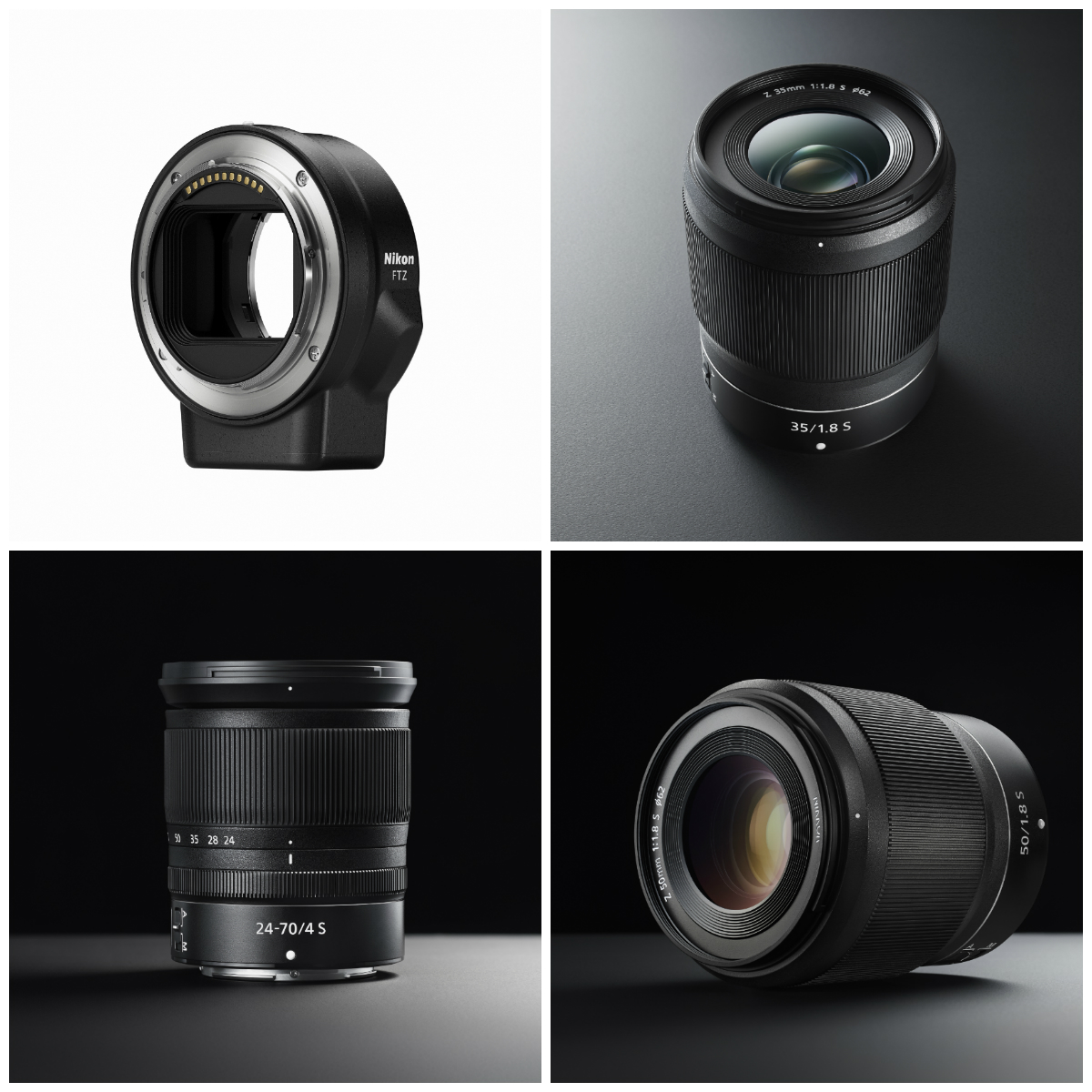 Nikon Z Mount lenses