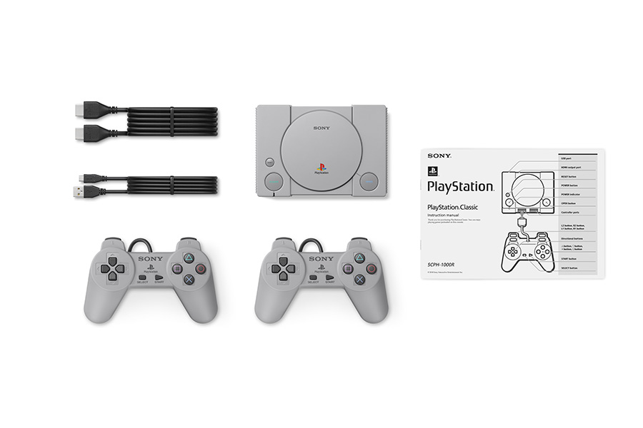 PlayStation's console, controllers and accessories