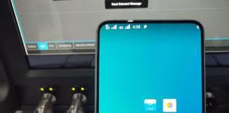 Vivo Nex showcasing its 5G capabilities