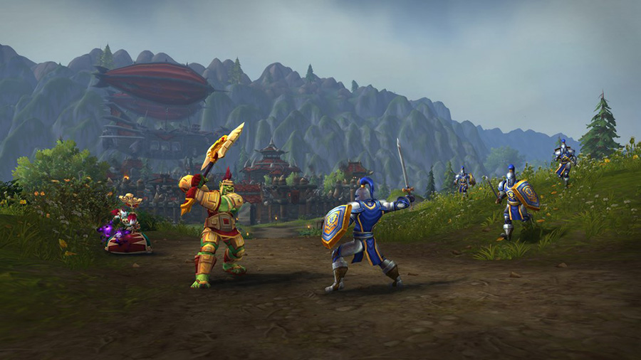 World of Warcraft: Battle For Azeroth featuring Warfront