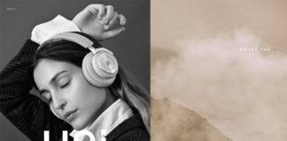 B&O Play H9i wireless headphones on a magazine spread