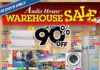 Audio House Warehouse Sale