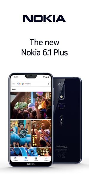 Nokia 6.1 ad
