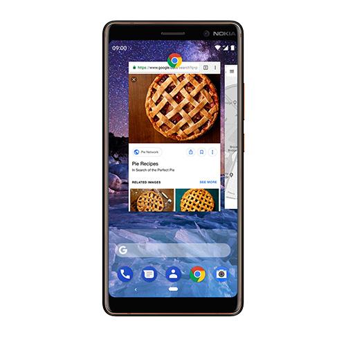 Nokia 7 Plus Android 9 Pie Multitasking