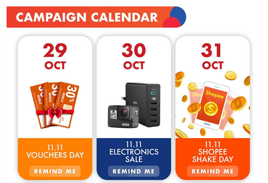 Shopee's Campaign Calendar