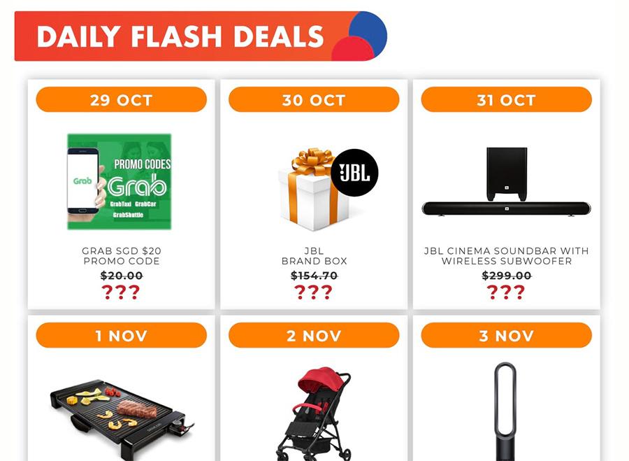 Shopee 11 Daily Flash Deals