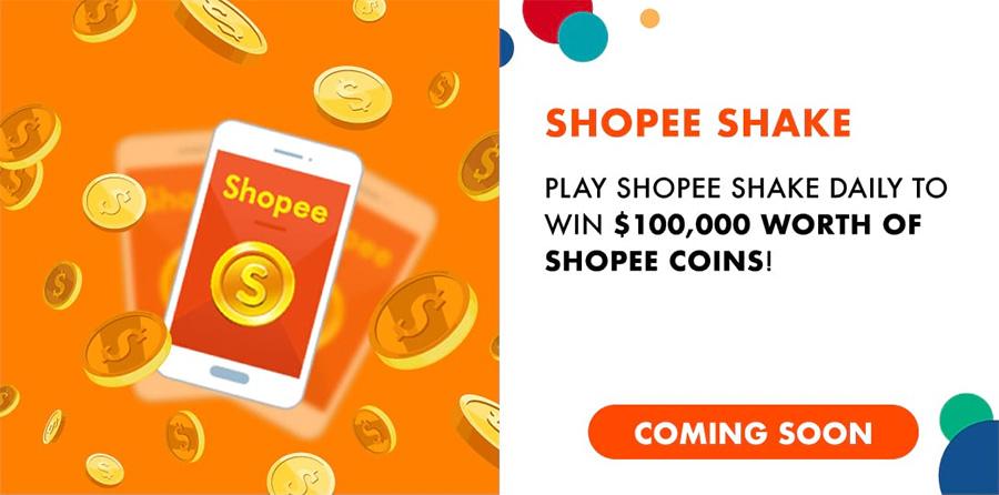 Shopee Shake for the Shopee 11.11 sale