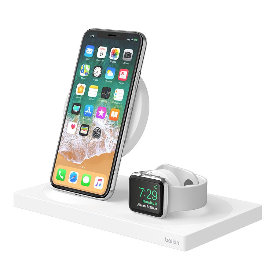 Belkin BOOST↑UP Wireless Charging Dock in White