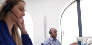 Using Plantronics Savi 8200 headset in the office
