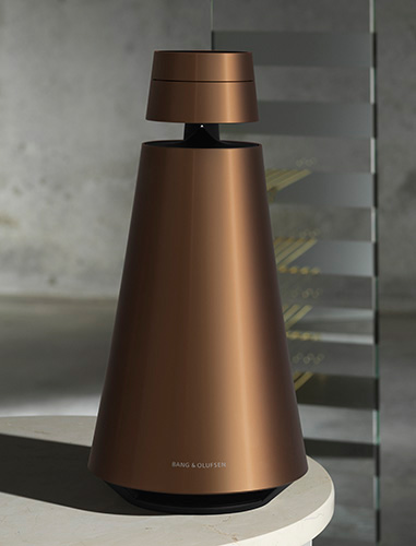 B&O Bronze Collection speaker