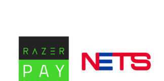 NETS and Razer Pay logos