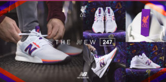 New Balance Liverpool FC 247 v2 Collab Sneaker
