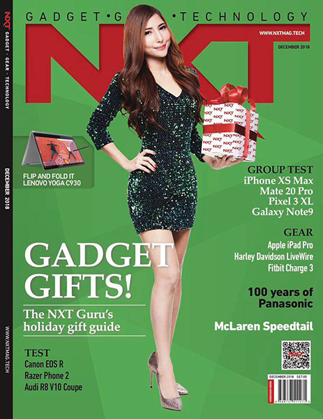 NXT December 2018 issue cover