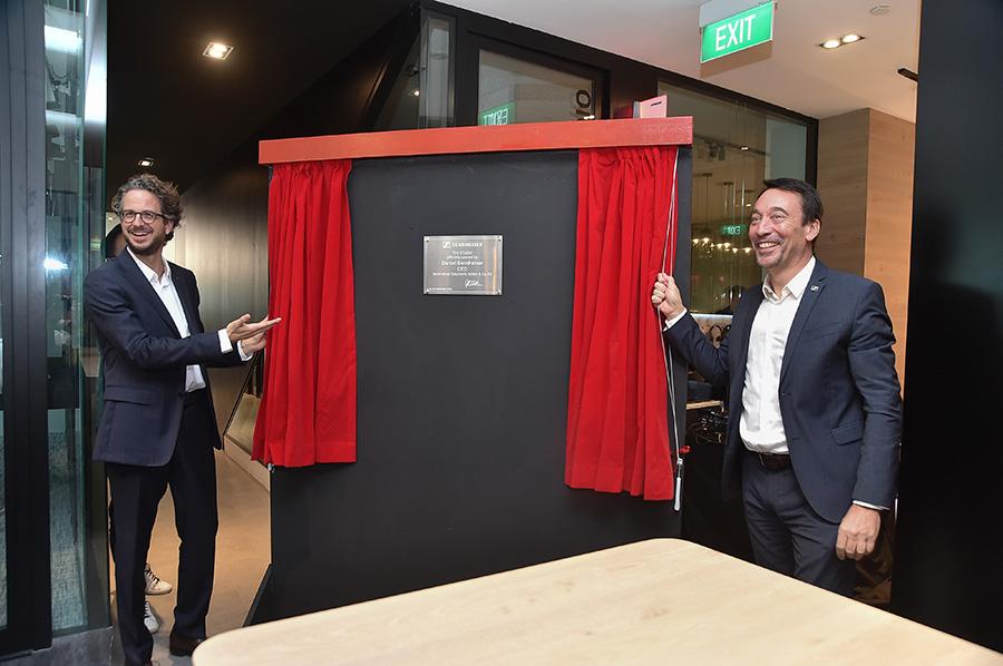 Opening of Sennheiser's new office in Singapore by Daniel Sennheiser
