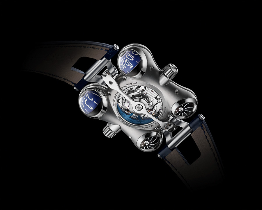 Back of the Horological Machine N°6 Final Edition watch