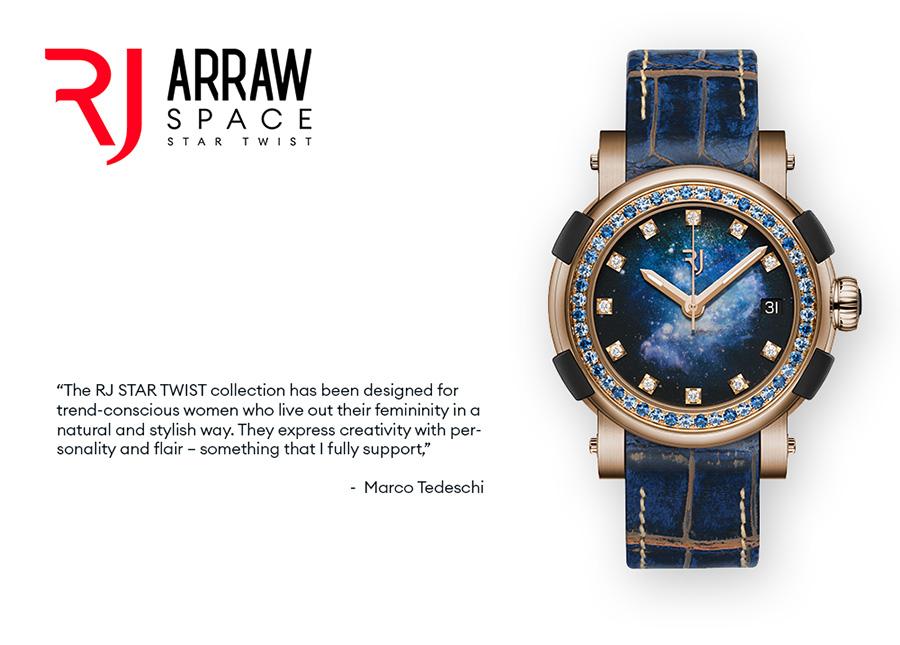 RJ ARRAW SPACE STAR TWIST