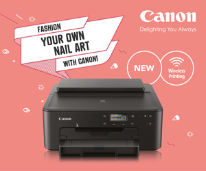 Canon Pixmaplay Nail MPU Ad