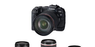 Canon EOS RP with interchangeable lens