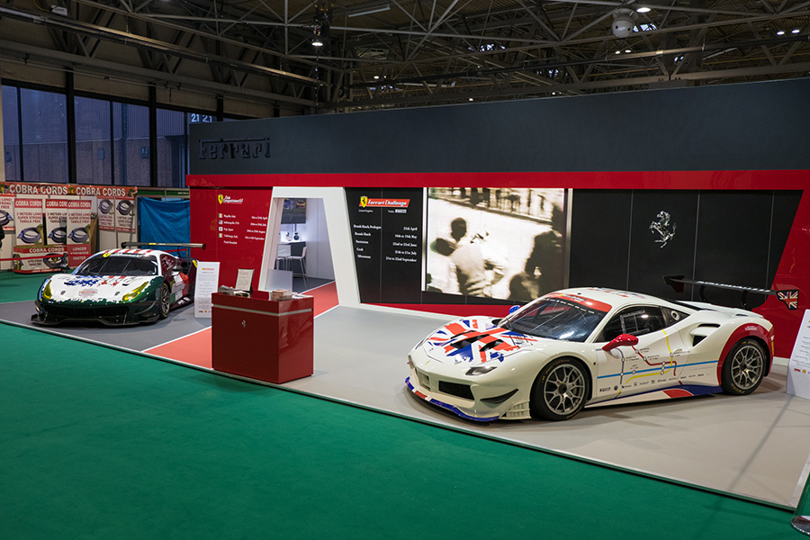 Ferrari GT models available for racing in the Competizioni GT Club