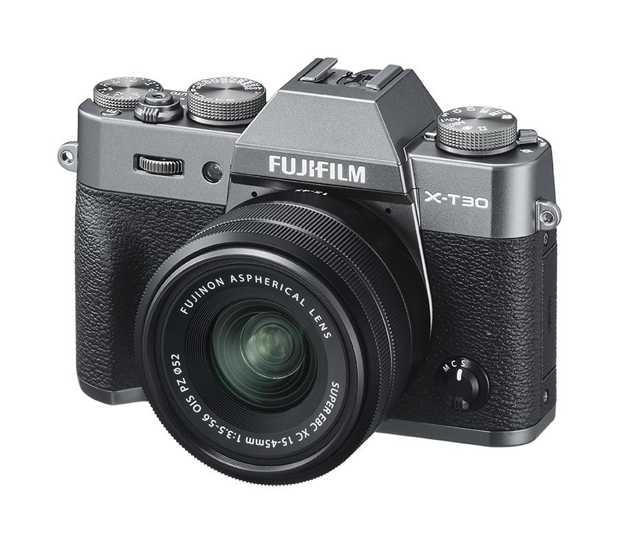 Fujifilm X-T30 camera in Charcoal