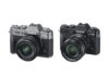 Fujifilm X-T30 cameras in Charcoal and Black