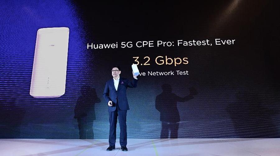 Huawei's 5G CPE Pro