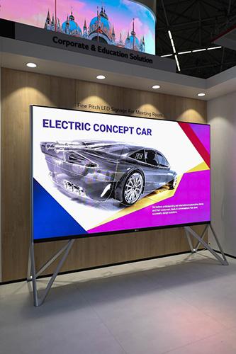 LAA series bezel-less 130-inch Meeting Room LED Screen