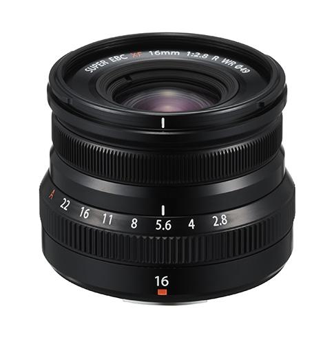 Fujinon Lens XF16mmF2.8 R WR in black