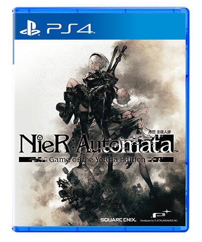 NieR:Automata Game of the YoRHa Edition case