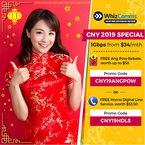 WhizComms Chinese New Year promo