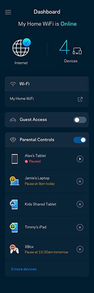 Velop security update screenshot