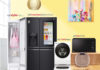 LG Home Appliances promotions feature