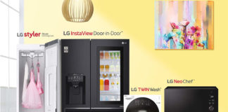 LG Home Appliances promotions feature