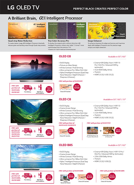 LG Home Entertainment promotion OLED TV continued