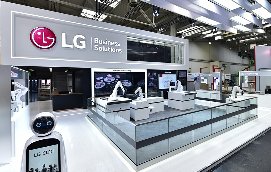 LG showcasing at Hannover Messe 2019