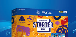 PlayStation4 Starter Pack box