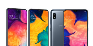 Galaxy A series – the Galaxy A10, A30 and A50