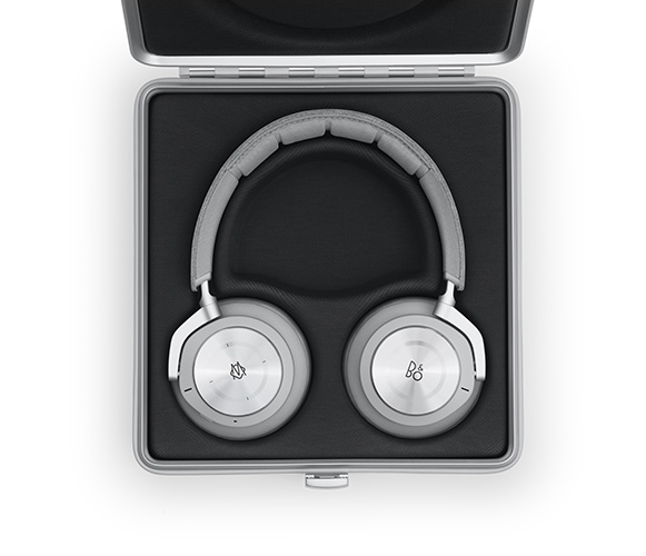 Bang & Olufsen and Rimowa  limited-edition Beoplay H9i headphones in its case