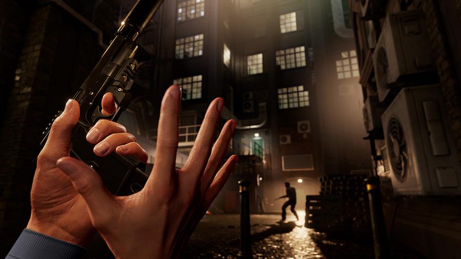 Blood & Truth in-game screenshot