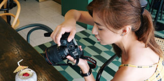 Our NXT Angel, Vanessa, using a Canon EOS RP digital mirrorless camera