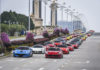 Ferrari owners and their cars from the three countries making their way to Kuala Lumpur