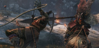A screencap from Sekiro: Shadows Die Twice